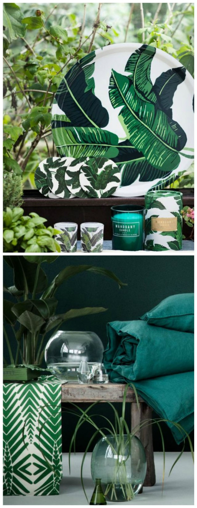Tendance déco Tropical - H&M Home