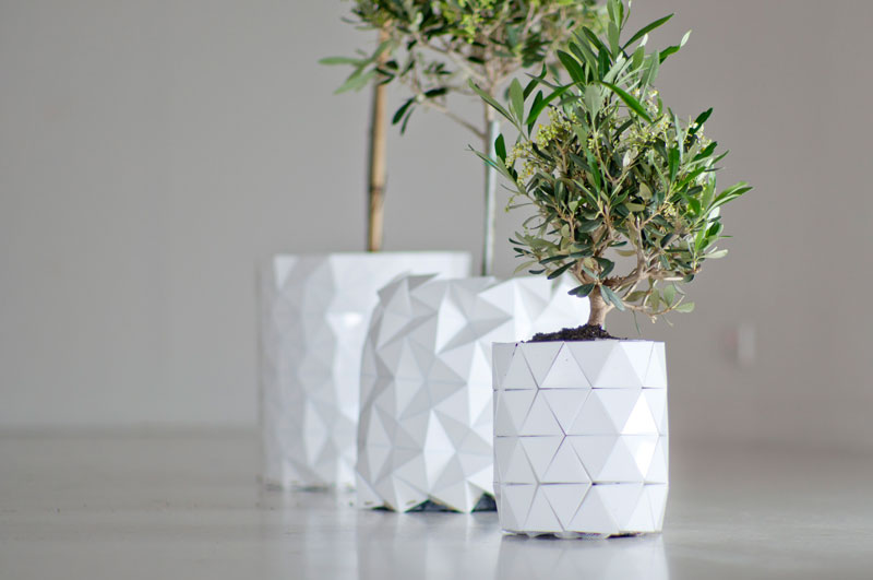 Growth - origami planter