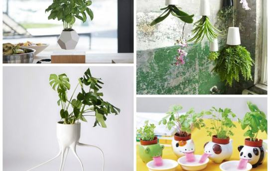 Super pots de plantes déco
