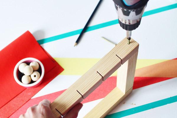 DIY Accroche-clés cuir 5