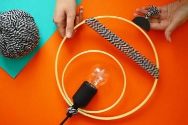 Réaliser une suspension graphique / DIY – 1