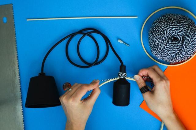 DIY Suspension graphique - Après la flemme