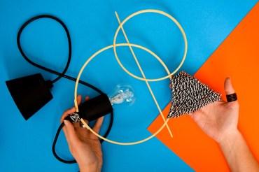 Réaliser une suspension graphique / DIY – 2
