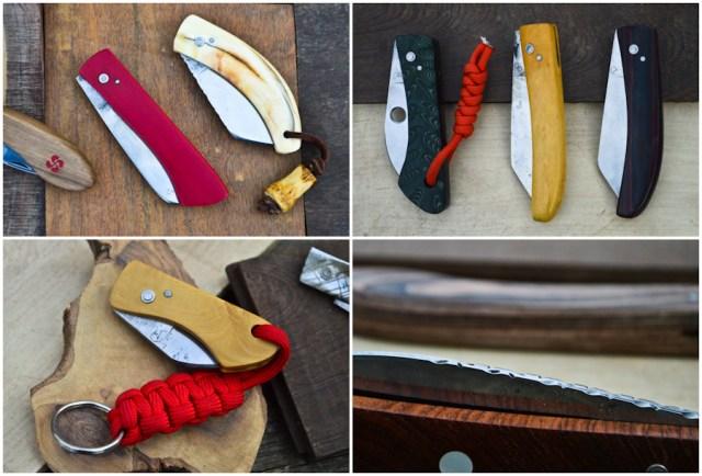 Dans l'atelier du coutelier Christophe Richard