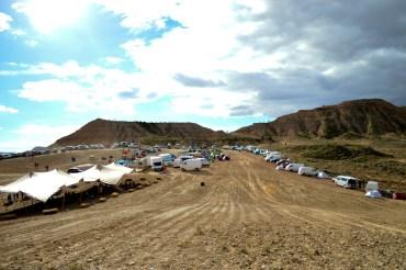 Road-trip / Sur la route du 24h Bardenas Music Camp