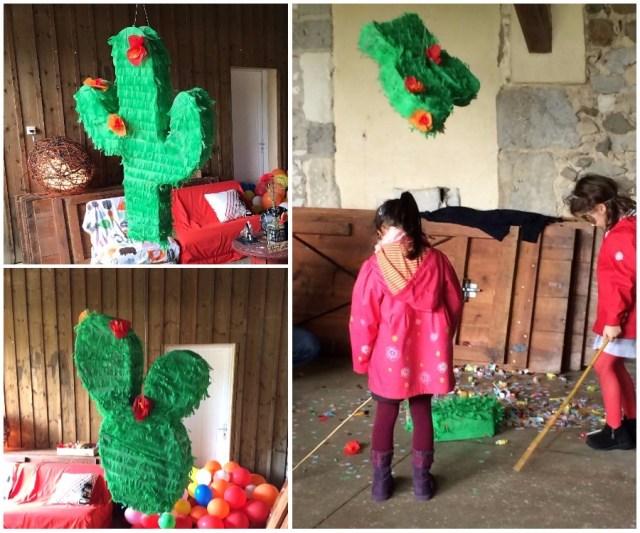 Piñata cactus de mariage Los dur Ramo / Après la flemme