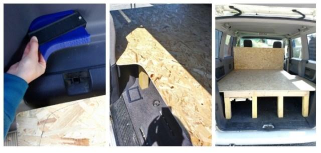 Aménagement d'un van - Après la flemme