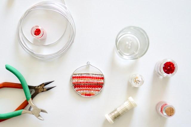 Boules de Noël en perles / Après la flemme DIY