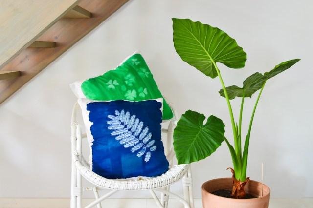 DIY Impression végétale solaire / Après la flemme