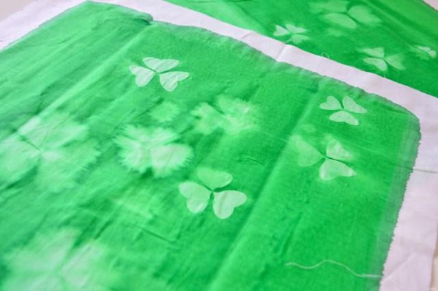 DIY Impression solaire sur tissu / Après la flemme