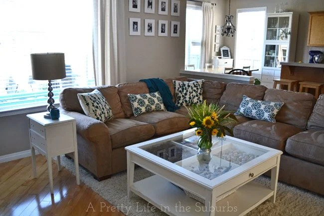 My Living Room Refresh For Late SummerEarly Fall A