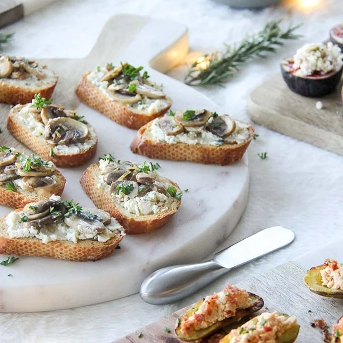 Easy Amp Elegant Holiday Appetizers A Pretty Life In The