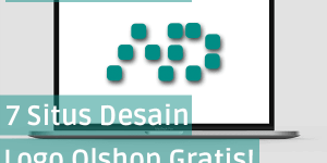 desain logo online shop gratis