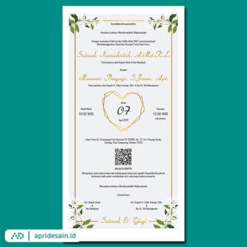 undangan digital pernikahan