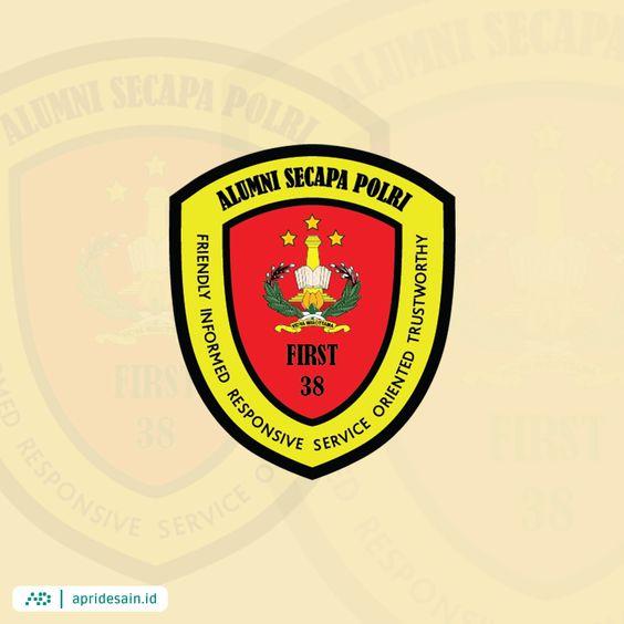 desain logo alumni polisi