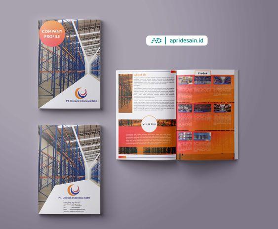 desain katalog pt perusahaan Jakarta