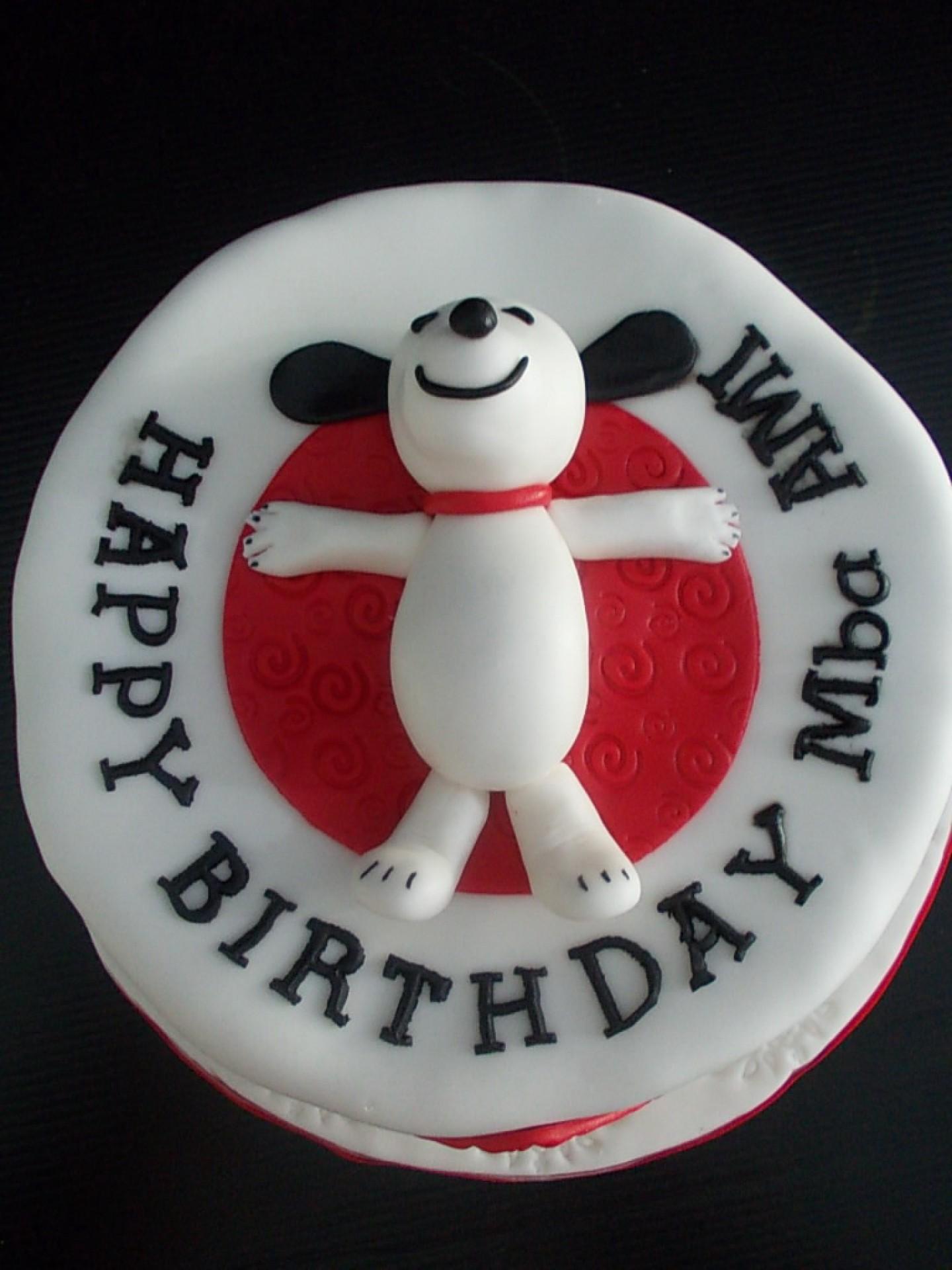 Snoopy April Cake