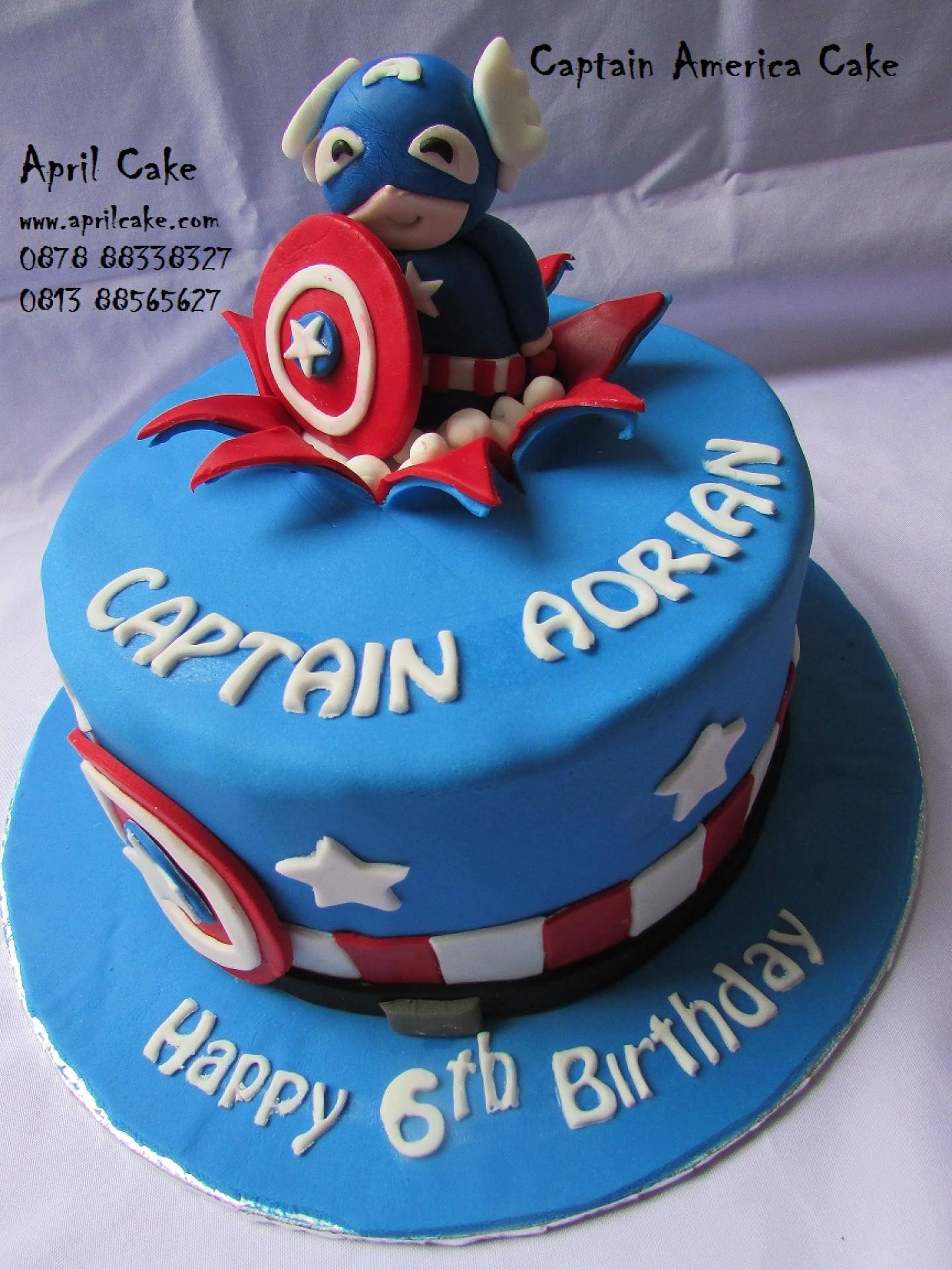 Captain America April Cake