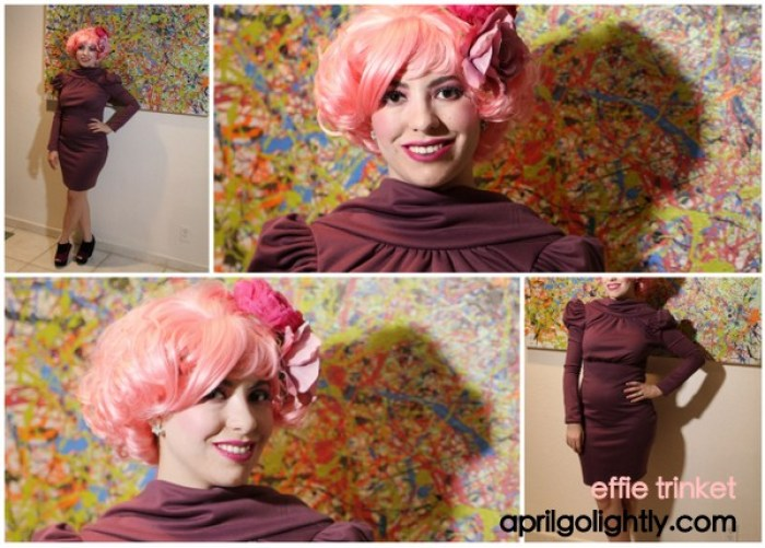 effie trinket costume effie trinket halloween