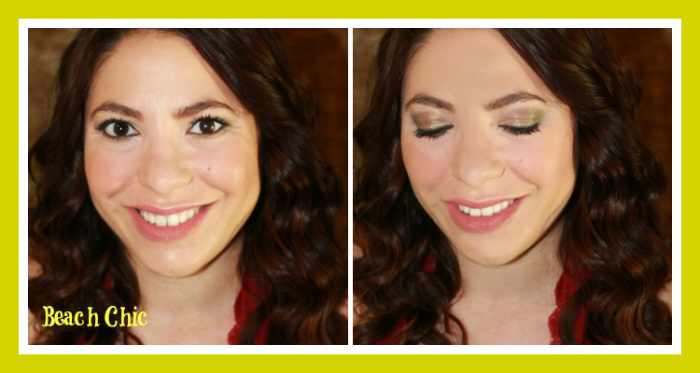 beach chic summer makeup and hair