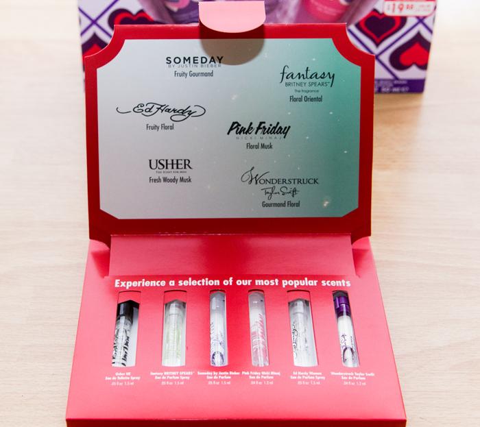 Perfume Tester Display: Christmas Gift Ideas: Celebrity Perfume