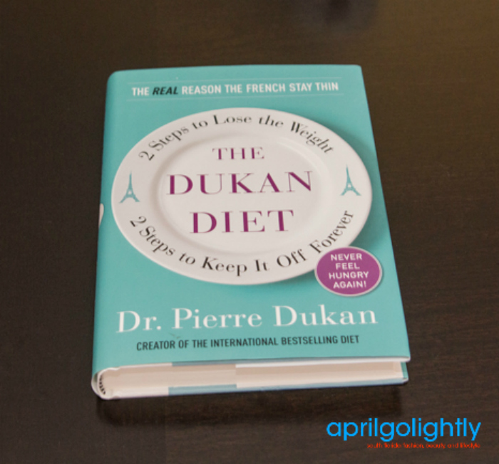 Dukan Diet Review - April Golightly