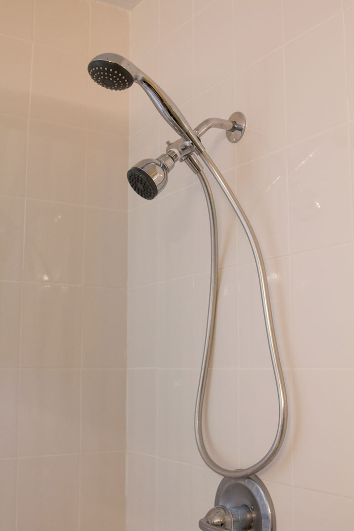 Self Cleaning Shower Spray