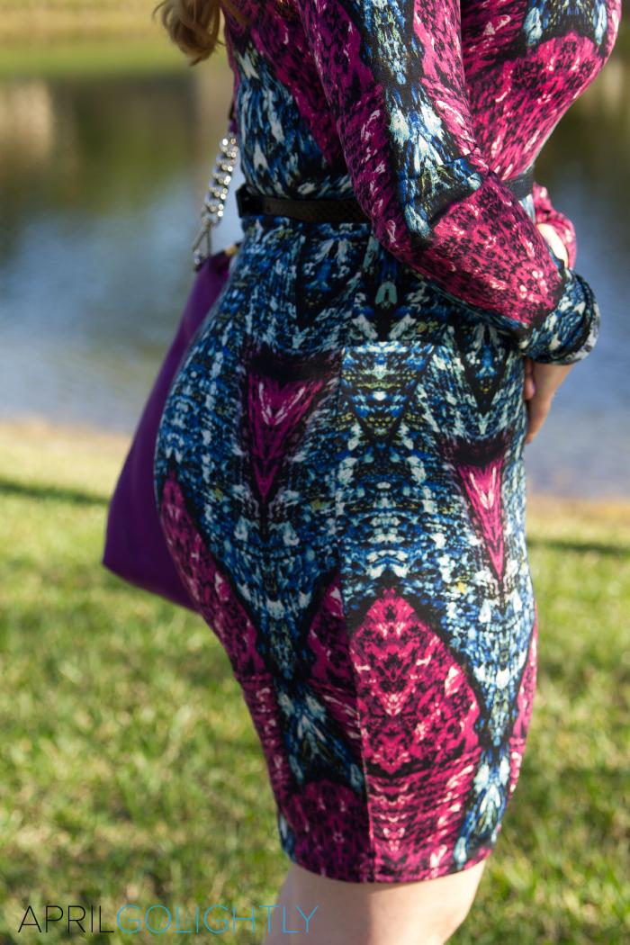 Body Conscious dress from BocaCelebrityBoutique.com worn by fashion blogger aprilgolightly.com