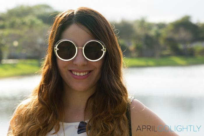 Round Sunglasses choies.com aprilgolightly.com