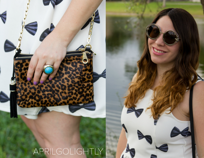 choies.com and winkandwinn.com leopard cross body bag