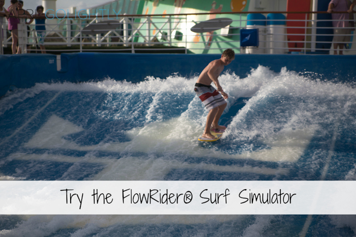 Surf Similator Flow Rider Liberty of the Seas Cruise #seastheday_-3
