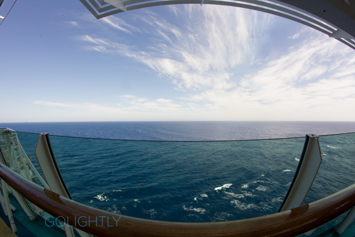 The View from  Liberty of the Seas Cruise #seastheday_
