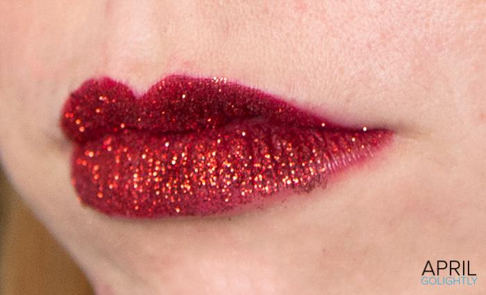 Red Glitter Lips-23