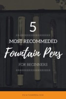 5 most recommended fountain pens for beginners