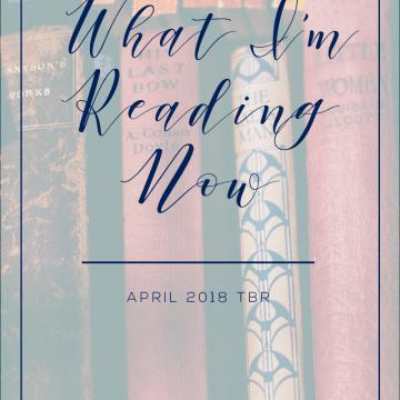 April Hayman | To Be Read List for April 2018