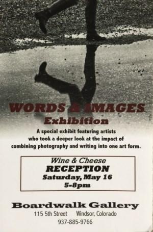Words & Images Reception -- April J. Moore