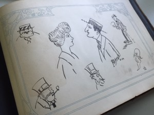 Frank V. Martinek original drawings
