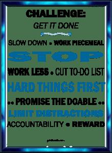 Get it Done Challenge