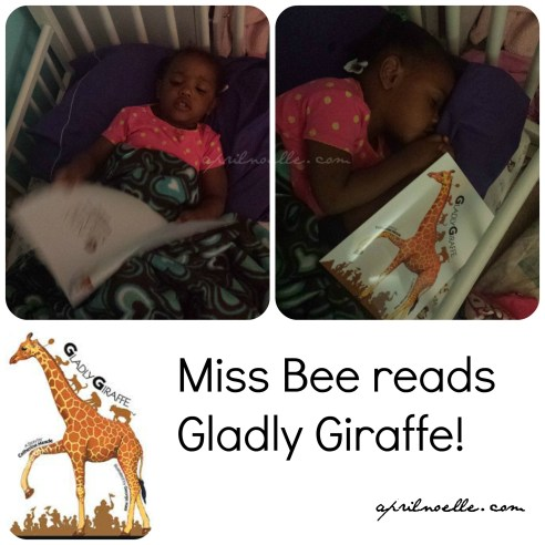 Gladly GIraffe Bee