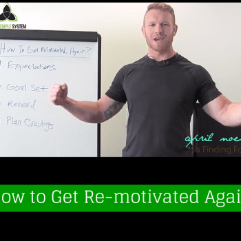 How to Get Re-motivated… Again
