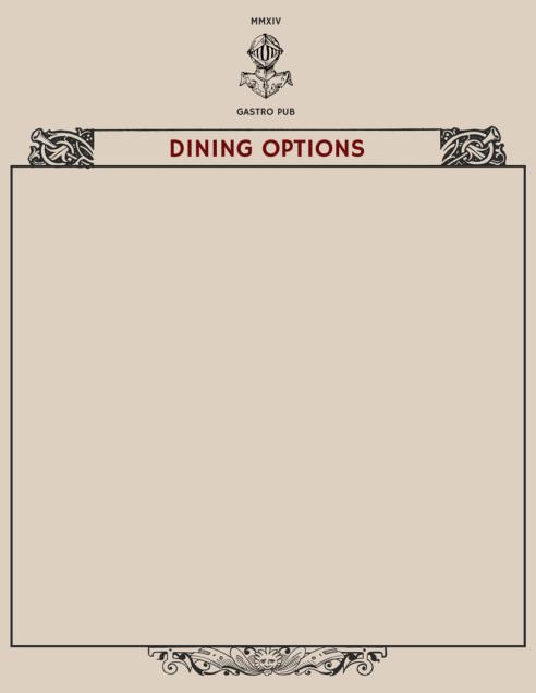 #MOTHERSDAY menu