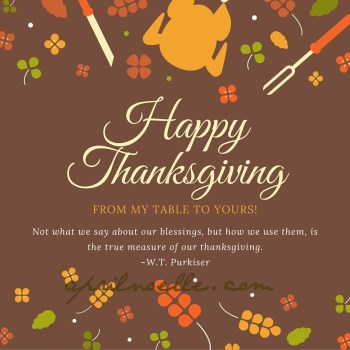Happy Thanksgiving to You 2015!