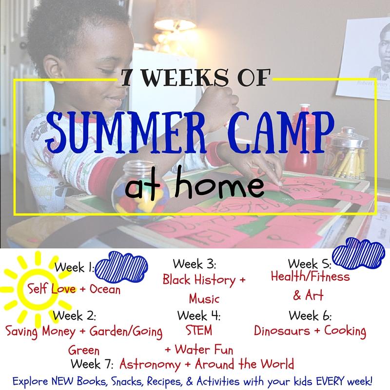 7 Weeks of Summer Camp at Home | AprilNoelle.com