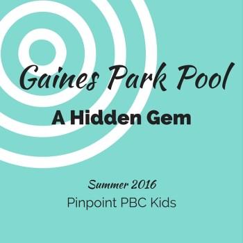 I Found A Neighborhood Hidden Gem: Gaines Park