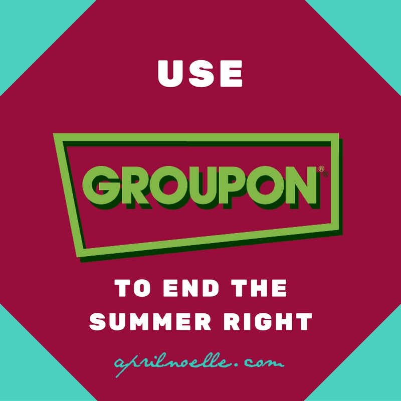 End Your Kids' Summer with a Bang at Groupon | AprilNoelle.com
