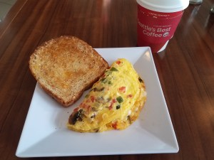 Breakfast at Hyatt House Atlanta/Downtown | AprilNoelle.com