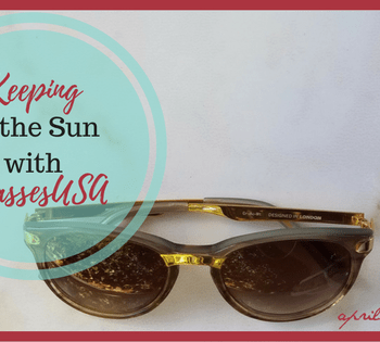 Keeping in the Sun with #GlassesUSA | AprilNoelle.com | #ad