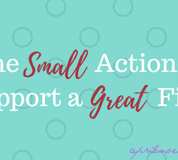 One Small Action to Support a Great Film | AprilNoelle.com