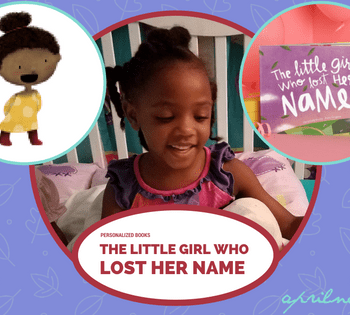 The Little Girl Who Lost Her Name   Personalized Books   AprilNoelle.com