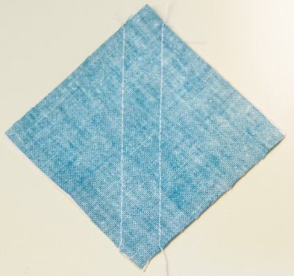 half square triangle quilting quilt tutorial shortcut